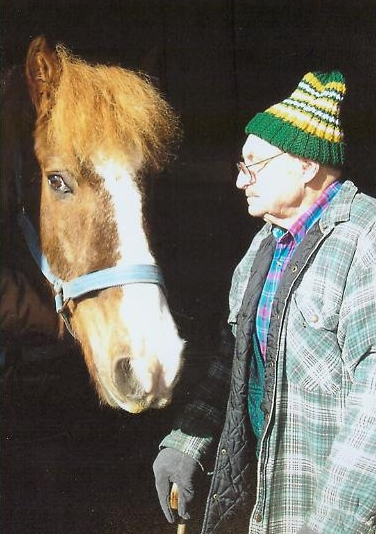 The Old Man and His Horse - January 2007