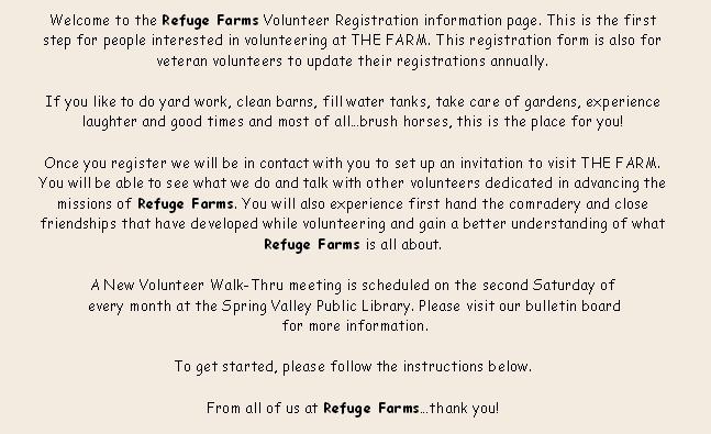 Volunteer Registration Form Volunteer Registration Form